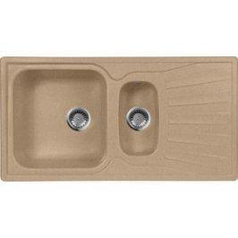 Мойка кухонная AquaGranitEx M-09K 940х495 песочный (M-09K 302)