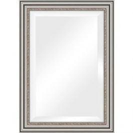 Зеркало с фацетом в багетной раме поворотное Evoform Exclusive 76x106 см, римское серебро 88 мм (BY 1297)
