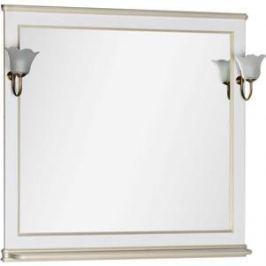 Зеркало Aquanet Валенса 100 белый краколет/золото (182647)