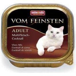 Консервы Animonda Vom Feinsten Adult коктейль из разных сортов мяса для кошек 100г (83441)