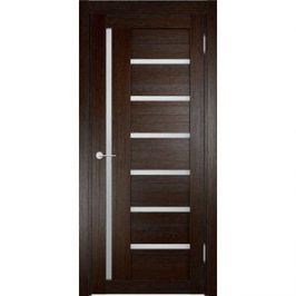 Дверь ELDORF Берлин-2 остекленная 2000х600 экошпон Дуб темный