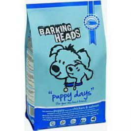 Сухой корм BARKING HEADS Puppy Days with Chicken & Salmon с курицей и лососем для щенков 2кг (0155/18096)