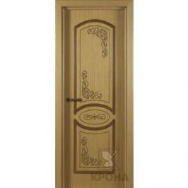 Дверь VERDA Муза глухая фрезерованная 2000х900 шпон Дуб