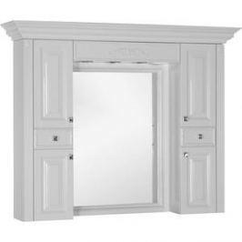 Зеркало-шкаф Aquanet Кастильо 140 белый (183174)