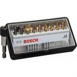 Набор бит Bosch х25мм PH/PZ/TX/SL/HEX 18шт + держатель Max Grip Robust Line (2.607.002.582)