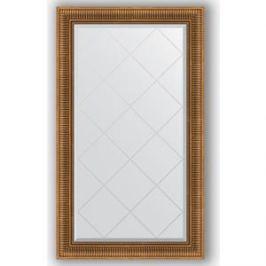 Зеркало с гравировкой поворотное Evoform Exclusive-G 77x132 см, в багетной раме - бронзовый акведук 93 мм (BY 4240)