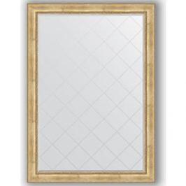 Зеркало с гравировкой поворотное Evoform Exclusive-G 137x192 см, в багетной раме - состаренное серебро с орнаментом 120 мм (BY 4514)