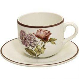 Чашка с блюдцем LCS Сады Флоренции (LCS933TP-BO-AL)