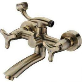 Смеситель для ванны Kaiser Trio излив 20 см, бронза Bronze (57122-1)