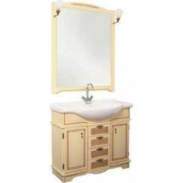 Комплект мебели Aquanet Луис 90 (008) цвет бежевый раковина-стол (Shenxin)