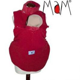 МаМ Флисовая слинговставка-накидка для мамы и малыша Cold Weather Insert, Красная (12259958)