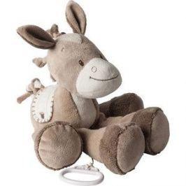 Игрушка мягкая Nattou Musical Soft toy (Наттоу Мьюзикал Софт Той) Max, Noa & Tom Лошадка музыкальная 777070