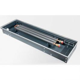 Конвектор отопления Techno внутрипольный с естественной конвекцией без решетки (KVZ 350-120-2400)