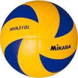 Мяч волейбольный Mikasa MVA310L, размер 5, цвет сине-желтый