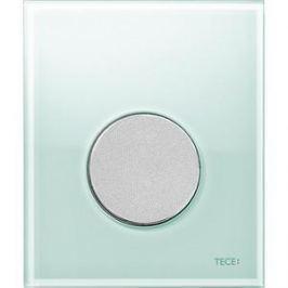 Панель смыва для писсуара TECE TECEloop Urinal (9242652) стекло зеленое, клавиша хром матовый