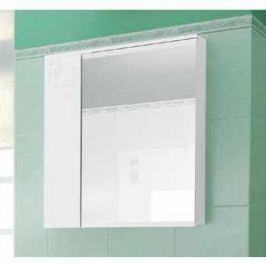 Зеркальный шкаф Меркана аккорд 55 см белое (20159)
