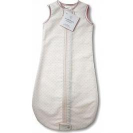 Спальный мешок SwaddleDesigns для новорожденного zzZipMe Sack 3-6M Flannel Lt PP w/PP Dots (SD-104PP)