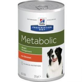 Консервы Hill's Prescription Diet Metabolic Weight Managment with Chicken с курицей диета при коррекции веса для собак 370г (2101)