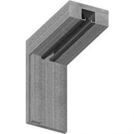 Коробка VERDA МДФ для складной двери однопольной комплект Дуб беленый (2037х70х24-2шт 965х70х24-1шт)
