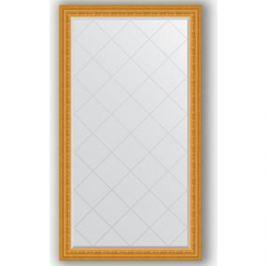 Зеркало с гравировкой поворотное Evoform Exclusive-G 95x169 см, в багетной раме - сусальное золото 80 мм (BY 4396)