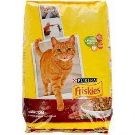 Сухой корм Friskies с мясом и полезными овощами для кошек 10кг (12053617)