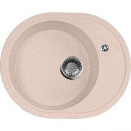 Кухонная мойка AquaGranitEx M-18L 575х465 розовый (M-18L (315))