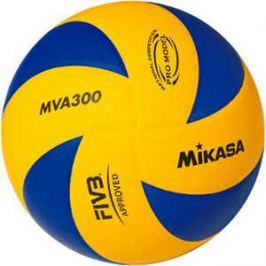Мяч волейбольный Mikasa MVA300, размер 5, цвет сине-желтый