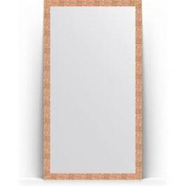 Зеркало напольное поворотное Evoform Definite Floor 108x197 см, в багетной раме - соты медь 70 мм (BY 6016)