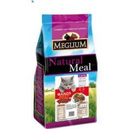 Сухой корм MEGLIUM Natural Meal Cat Adult Beef с говядиной для взрослых кошек 3кг (MGS0503)