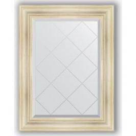 Зеркало с гравировкой поворотное Evoform Exclusive-G 69x91 см, в багетной раме - травленое серебро 99 мм (BY 4117)