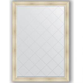 Зеркало с гравировкой поворотное Evoform Exclusive-G 134x189 см, в багетной раме - травленое серебро 99 мм (BY 4504)