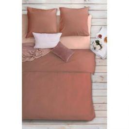 Комплект постельного белья Сова и Жаворонок Евро, бязь Premium, гладкокрашеная, Божественная магнолия