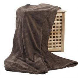 Плед Ecotex Elegance 150х200 коричневый (ПЭКО150)