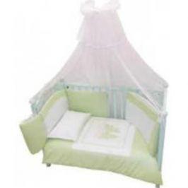 Комплект в кровать Andy and Helen Fiocco (декор- бантик) 7 предметов салатовый 6/20V3R52 7P SB G