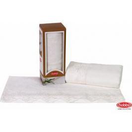 Полотенце Hobby home collection Almeda 50x90 см кремовый (1501000372)