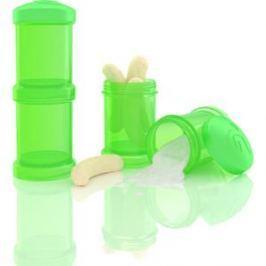 Twistshake Контейнер для сухой смеси 2 шт. 100 мл. Зелёный (780026)