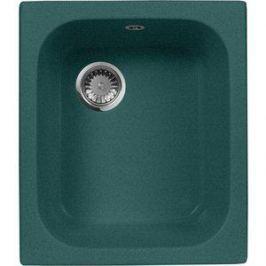 Кухонная мойка AquaGranitEx M-17 420х485 зеленый (M-17 (305))