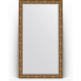 Зеркало напольное с фацетом поворотное Evoform Exclusive Floor 114x203 см, в багетной раме - византия золото 99 мм (BY 6164)
