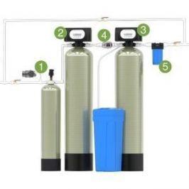 Гейзер Аэрация, обезжелезивание и умягчение 2,5 куб.м/час, до 5 кранов, Runxin