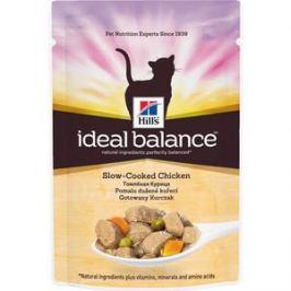 Паучи Hill's Ideal Balance Slow-Cooked Chicken томленная курица с овощами для кошек 82г (10023)