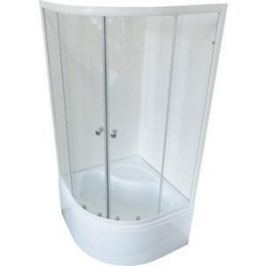 Душевой уголок Royal Bath 100*100*200 стекло прозрачное (RB100BK-T)