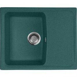 Кухонная мойка AquaGranitEx M-17K 600х490 зеленый (M-17K (305))