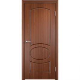 Дверь VERDA Неаполь глухая 2000х800 ПВХ Итальянский орех