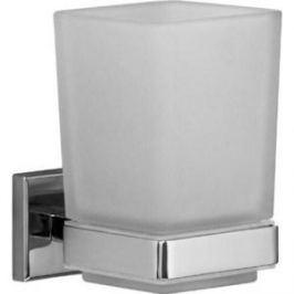Стакан для зубных щеток Milardo Labrador матовое стекло/хром (LABSMG0M45)