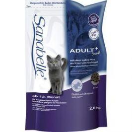 Сухой корм Bosch Petfood Sanabelle Adult Ostrich с мясом страуса для взрослых кошек 2кг