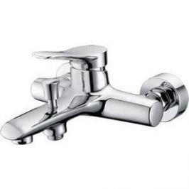 Смеситель для ванны Kaiser Sena короткий излив с душем, хром (74022)