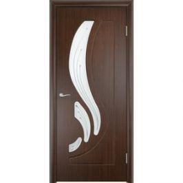 Дверь VERDA Лиана остекленная 2000х900 ПВХ Венге