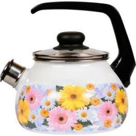 Чайник эмалированный со свистком 2.0 л Vitross Fernanda (1RA12)