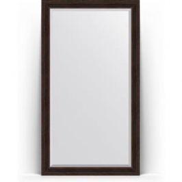 Зеркало напольное с фацетом поворотное Evoform Exclusive Floor 114x204 см, в багетной раме - темный прованс 99 мм (BY 6170)