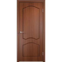 Дверь VERDA Лидия глухая 1900х600 ПВХ Итальянский орех